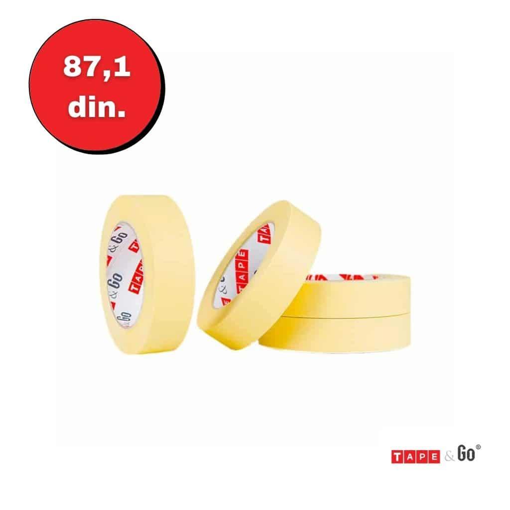 Žuta Krep Traka 30mm x 50m